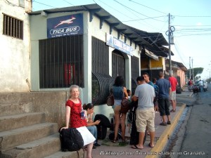Tica Bus station - Granada