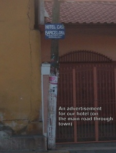 Hotel Casa Barcelona sign