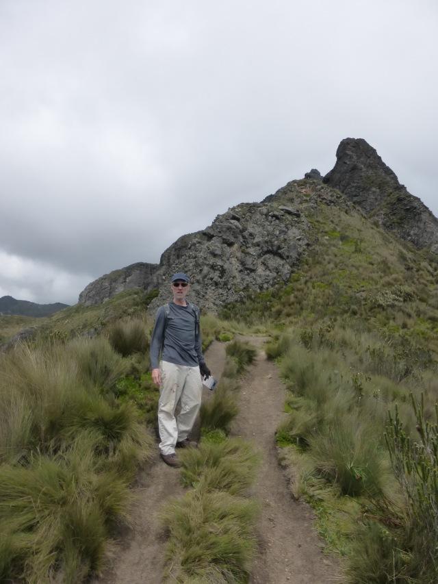 Climbing Ruku Pichincha