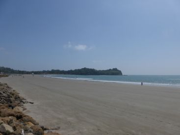Mompiche beach