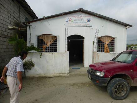 Mompiche church