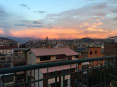 Quito sunset